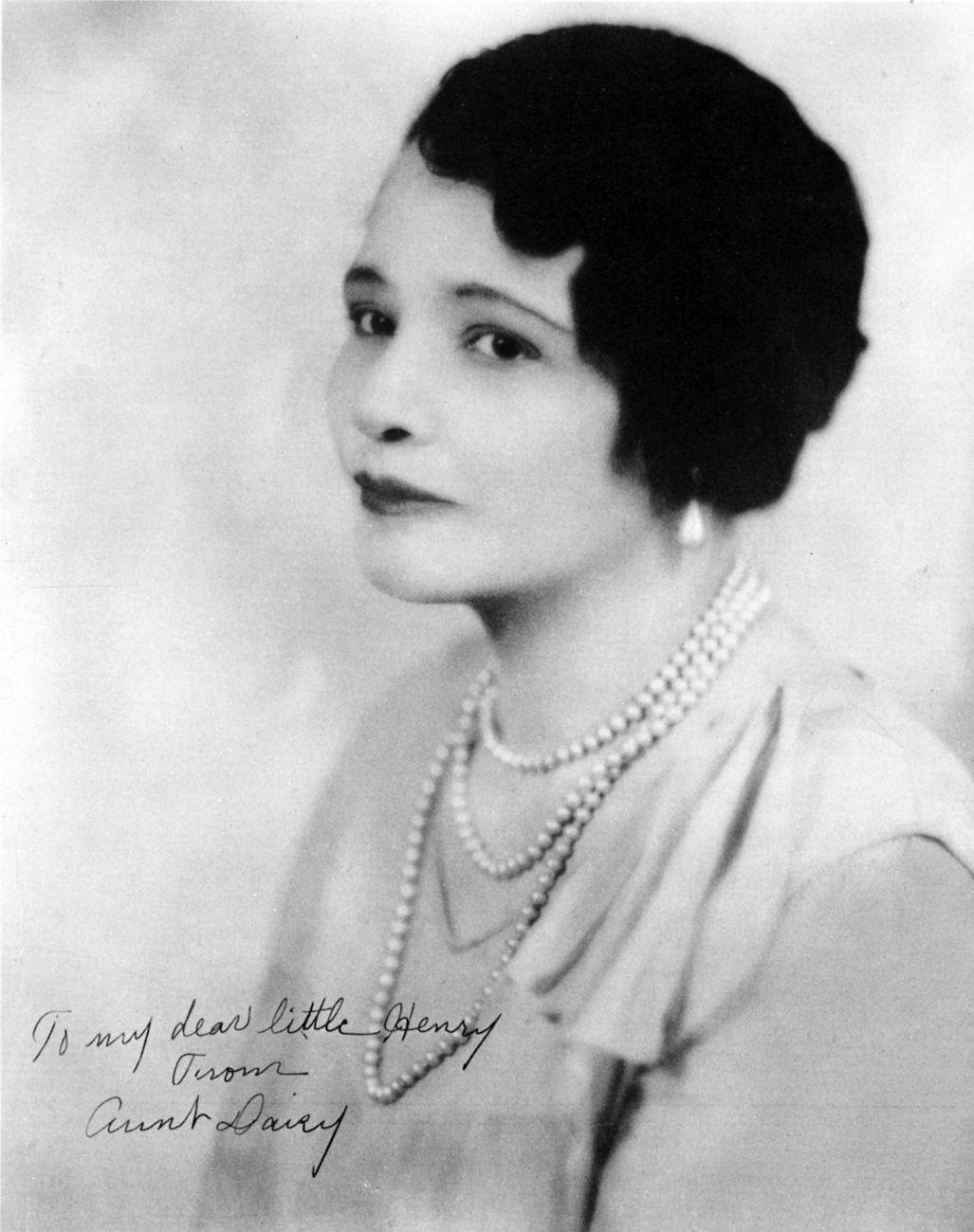 p. 36, Daisy Ellington, mère de Duke, X, Coll Philippe Baudoin