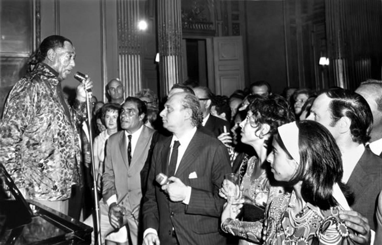 p. 408, Réception à l'ambassade américaine d'Argentine à Buenos Aires, novembre 1971, X, Coll. Christian Bonnet