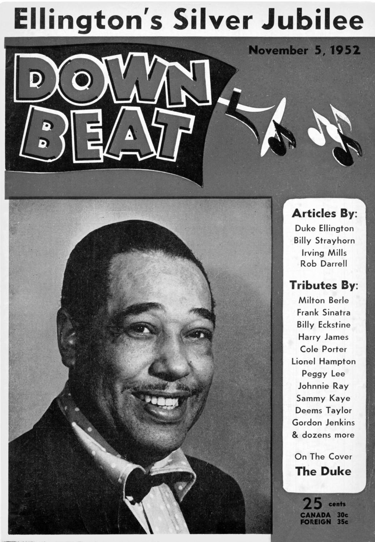 p. 528, Une de Down Beat, novembre 1952, X, Coll. Philippe Baudoin