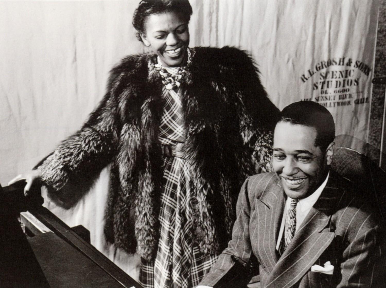 p. 144, Ivie Anderson et Duke Ellington, 1941, X, Coll. Christian Bonnet