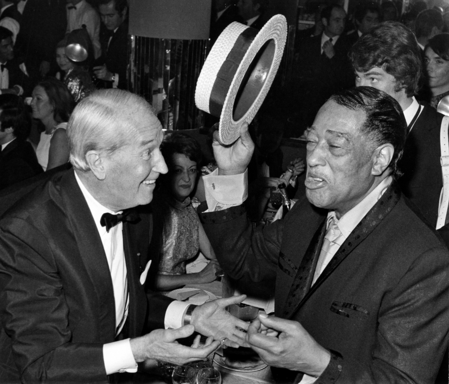 p. 161, Avec Maurice Chevalier, à l'Alcazar,Paris, 20 novembre 1969, X, Collection Christian Bonnet