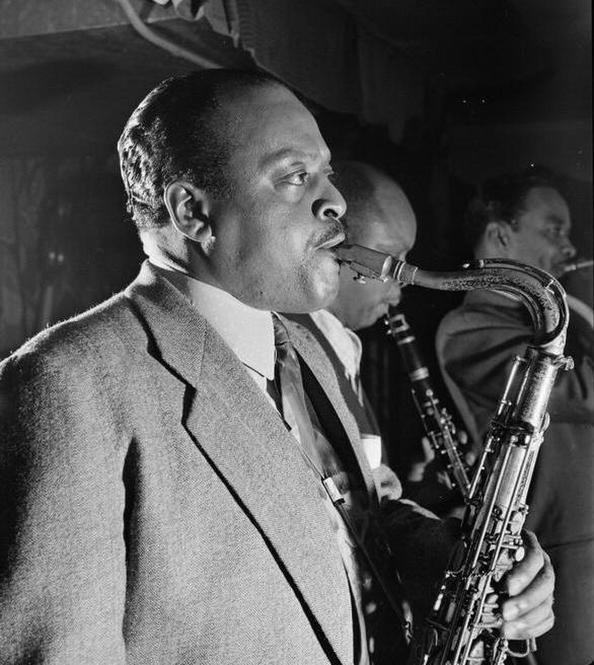 p. 178, Ben Webster, 1945, William Gottlieb