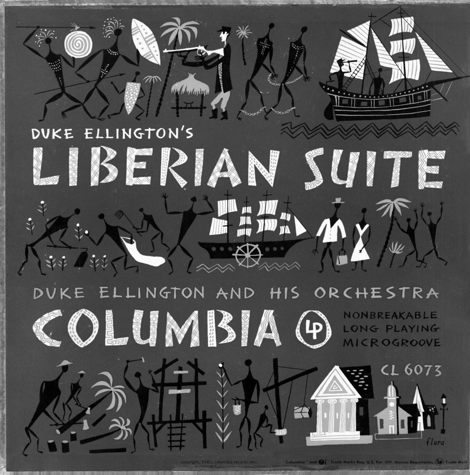 p. 202, Coffret 78 tours Liberian Suite, 1948, , Coll. Philippe Baudoin