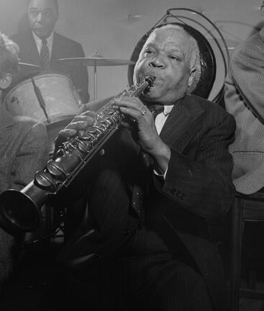 p. 66, Sidney Bechet, 1948, William Gottlieb,