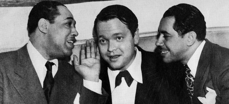 p. 231, Avec Orson Welles et Cab Calloway, X, Coll. Philippe Baudoin