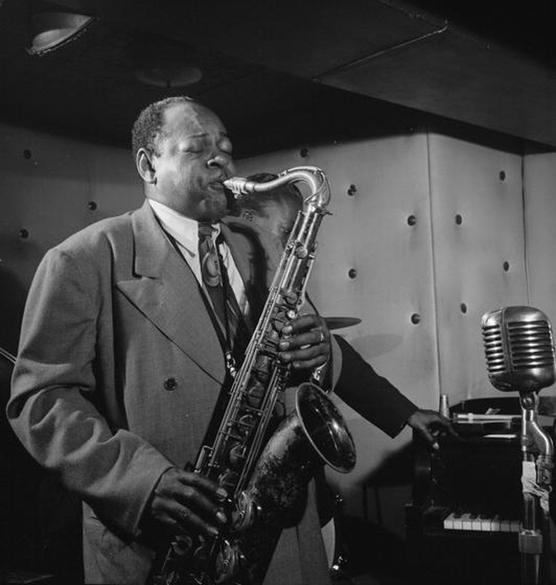 p. 273, Coleman Hawkins, 1947, William Gottlieb