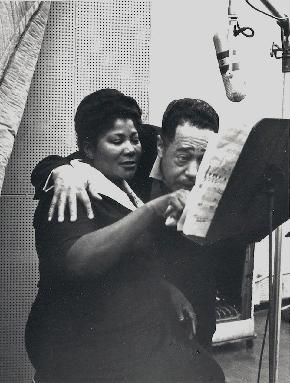 p. 276, avec Mahalia Jackson, 1958, X, Coll. Christian Bonnet