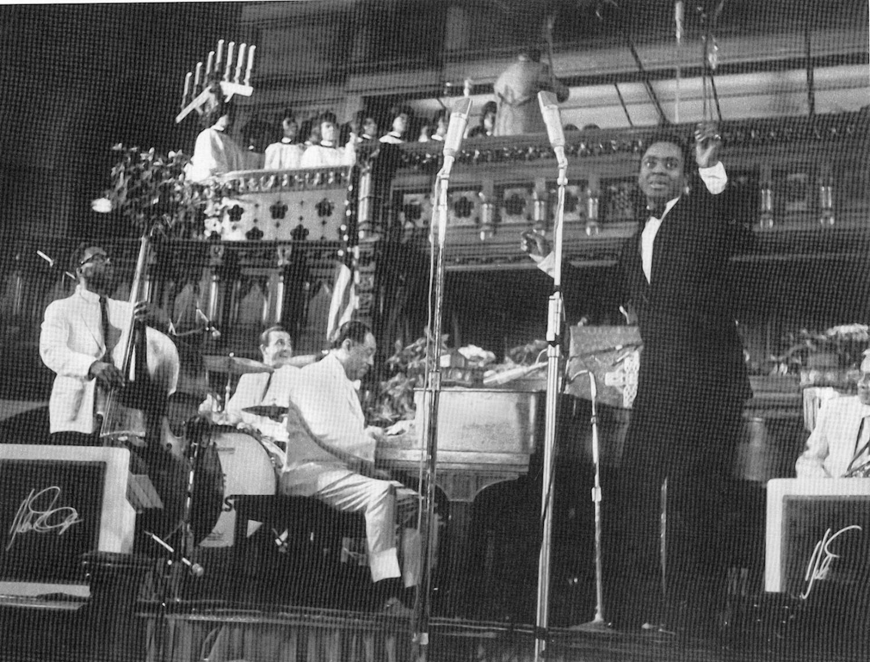 p. 285, 1er Concert de Musique Sacrée, église presbytérienne de la 5ème avenue, New York, 26 dec 1965, X, Coll. Christian Bonnet