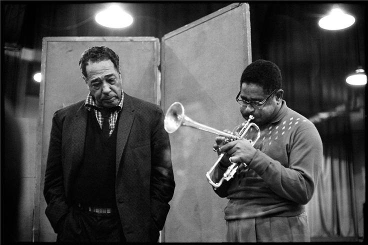 Duke avec Dizzy Jazz Party 1959