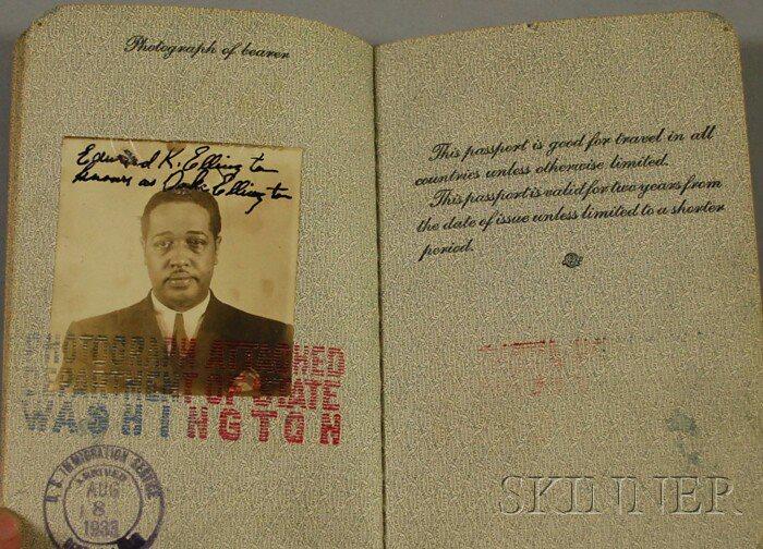 curios_passeport Ellington 1933