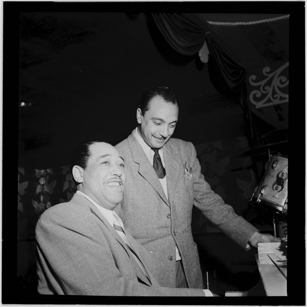gottlieb_DE Django Reinhardt Aquarium NYC Nov 1946