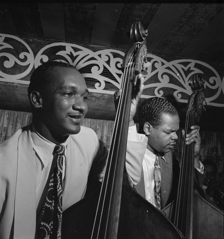 gottlieb_Oscar Pettiford and Junior Raglin 1946