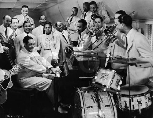 The Duke Ellington Orchestra performs