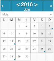 agenda juin